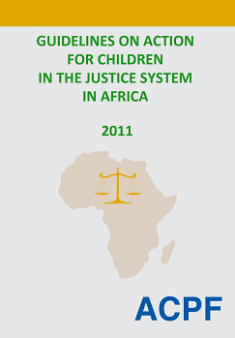 Guidelines on Action for Children in the Justice System in Africa - English